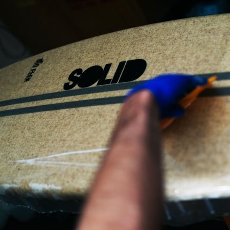 solid surfboards resin
